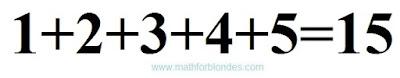 Сложение чисел. Математика для блондинок.
