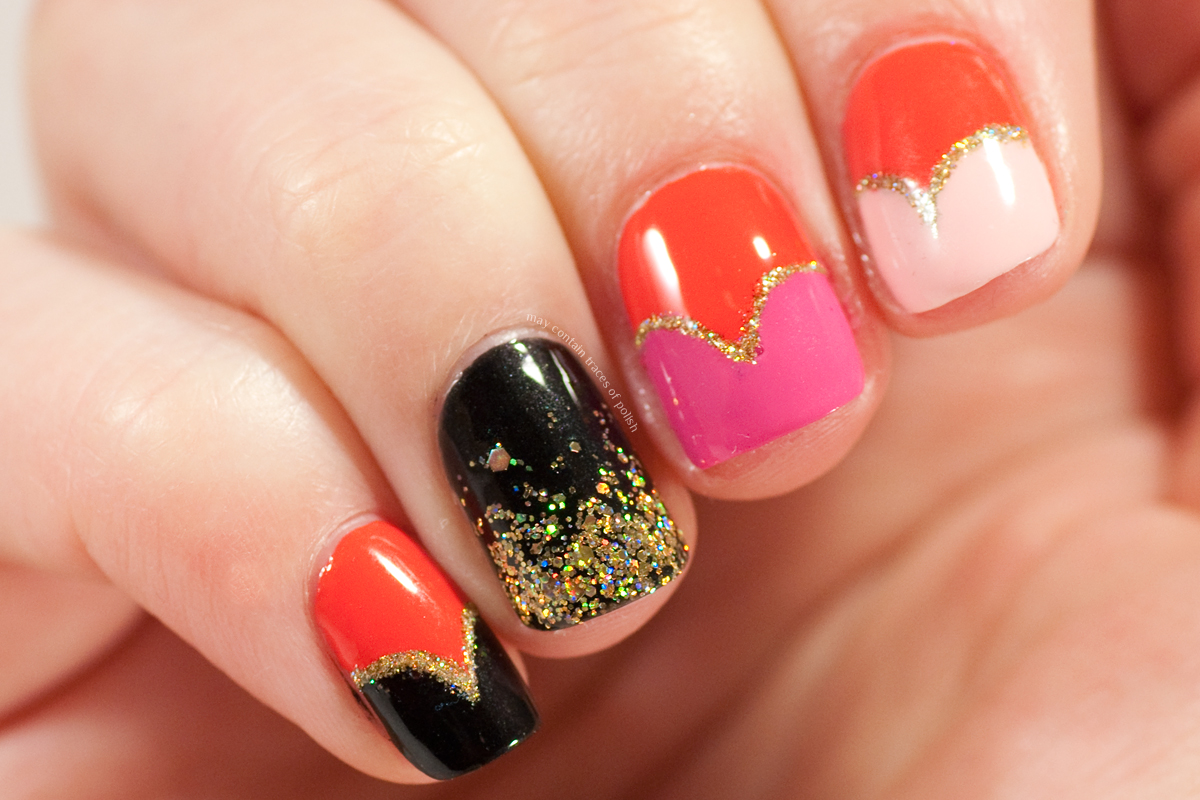 Valentine\'s Day Nails - May contain traces of polish