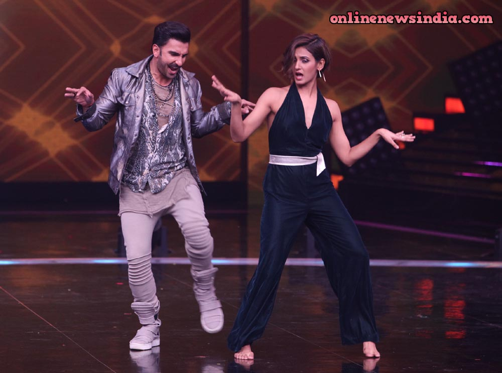 Ranveer Singh and Shakti Mohan on Dance+ 4