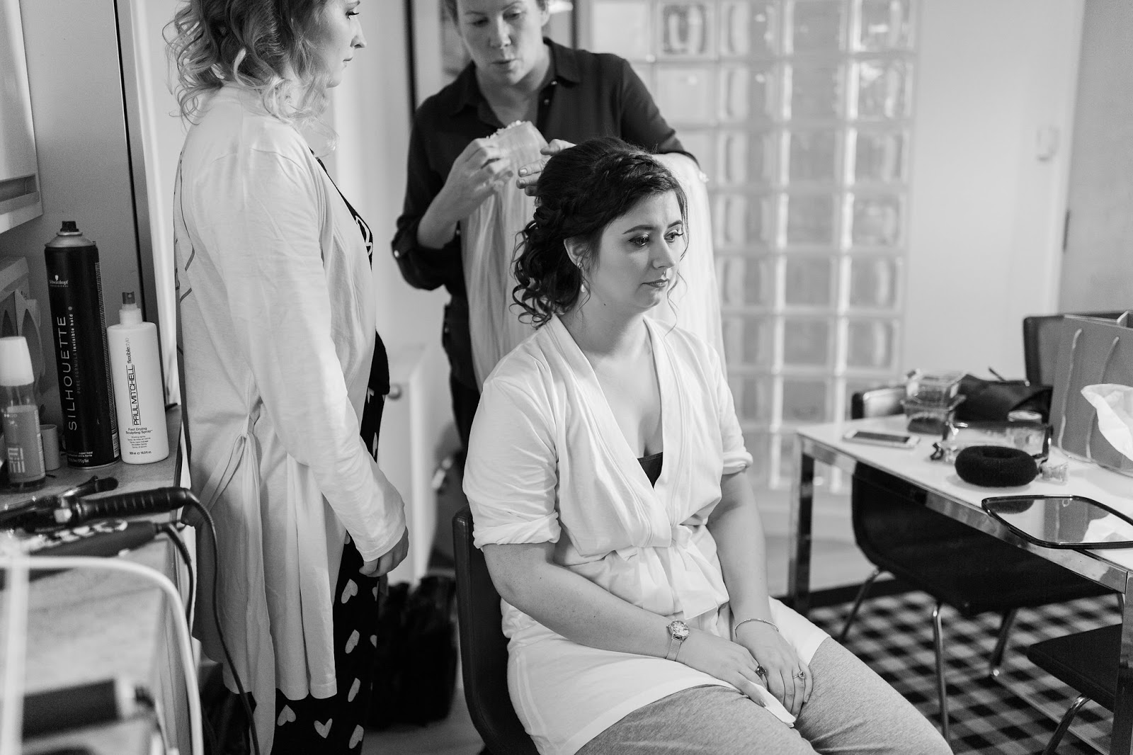 glasgow wedding hair and makeup