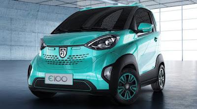 Mobil Listrik buatan Wuling Baojun E100, 70 jutaan. Ini spesifikasinya.