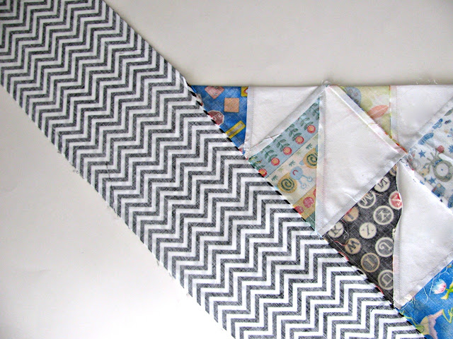 Mitered Corners Tutorial | Quilt Tutorial | © Saltwater Quilts 2012