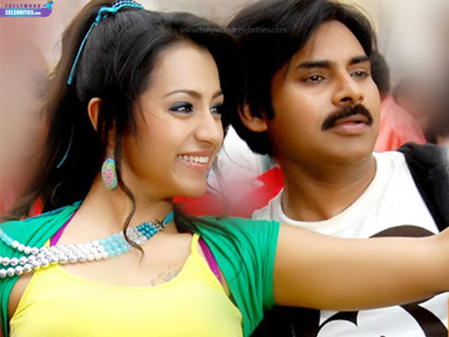 Trisha ,Pawan Kalyan Crazy Combination Again?