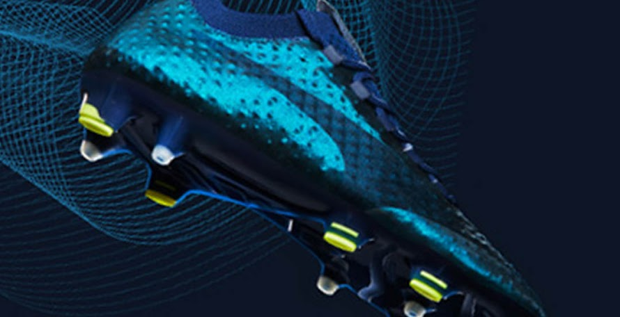 online store b93bd 2cd0a Blue Depths   Yellow Puma evoPOWER 3D 2017-18 Boots Released