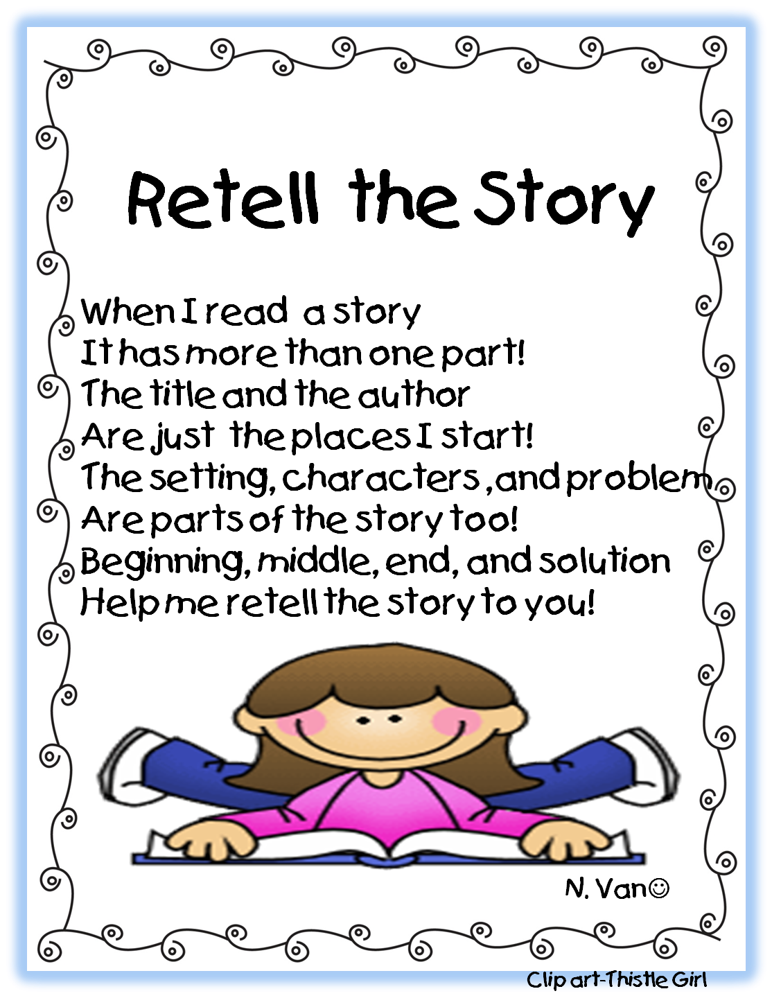 First Grade Retelling Stories