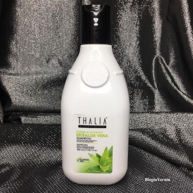 Thalia Natural Aloe Vera Onarıcı ve Nemlendirici Bakım Şampuan