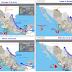 Hoy se prevén tormentas intensas en zonas de Michoacán, Oaxaca, Chiapas y Veracruz