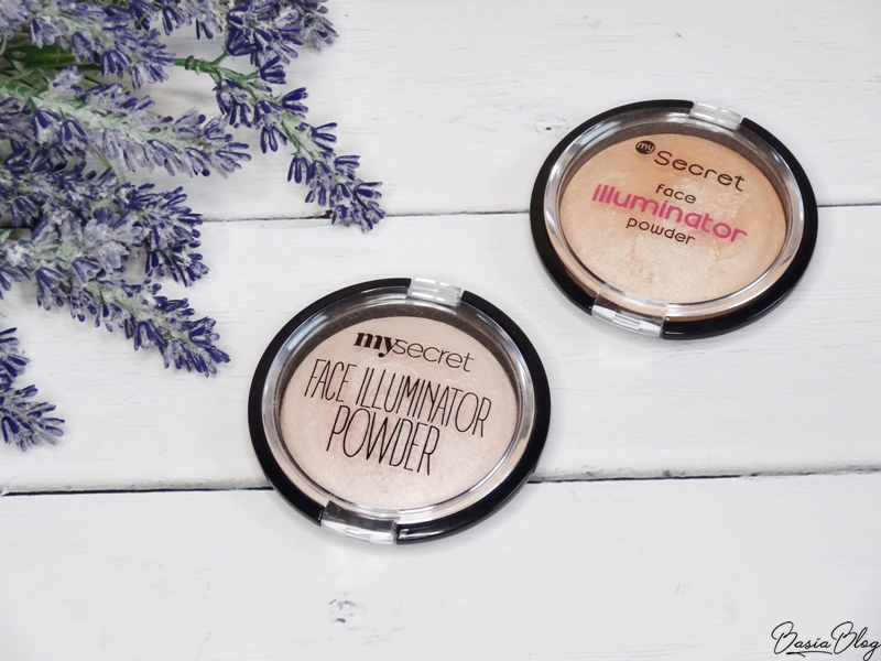 rozświetlacz My Secret Face Illuminator Powder Princess Dream, Sparkling Beige