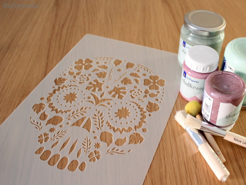Diy By Paula Camiseta Con Stencil Y Chalk Paint