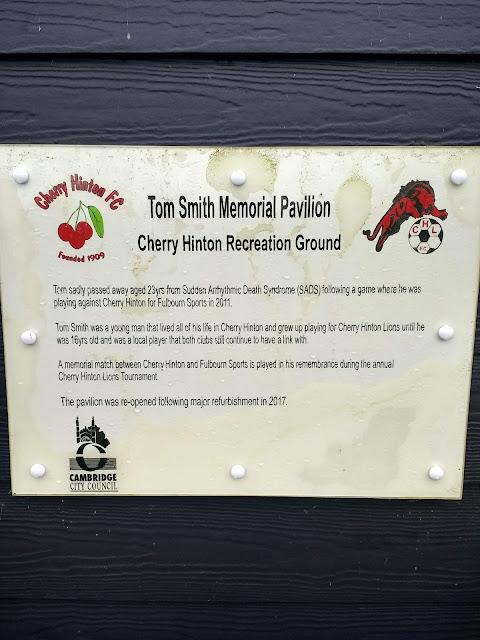Pavillion, Cherry Hinton, Rec, Cherry Hinton Rec, Cambridge, Football