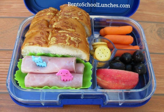 Roll-ups, quick and easy bento school lunch