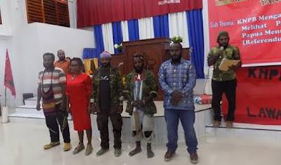 KNPB Wilayah Ndugama Resmi Dilantik