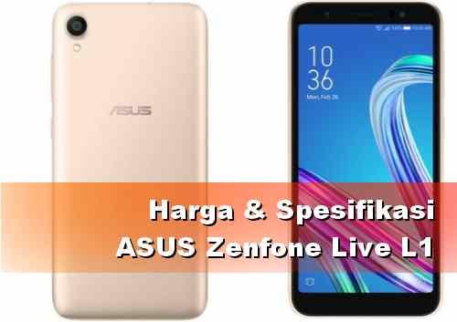 Harga HP ASUS Zenfone Live L1 terbaru