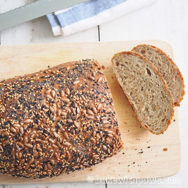 Rye Bread with Chia Seed