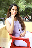 Tanya Hope in Crop top and Trousers Beautiful Pics at her Interview 13 7 2017 ~  Exclusive Celebrities Galleries 151.JPG