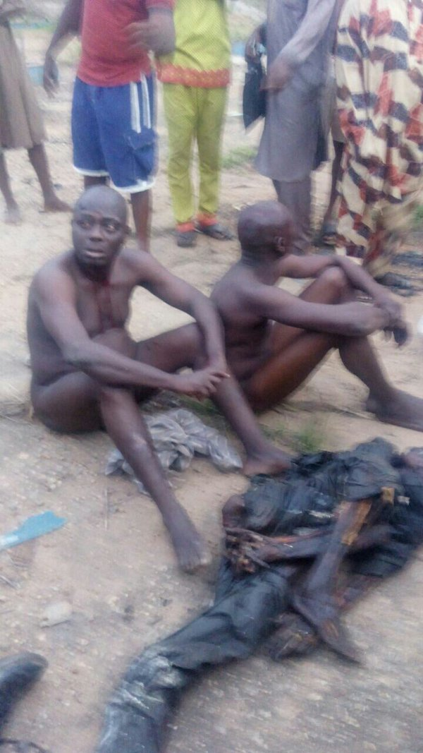 Photos: Elderly Ritualists Caught In Ogun State