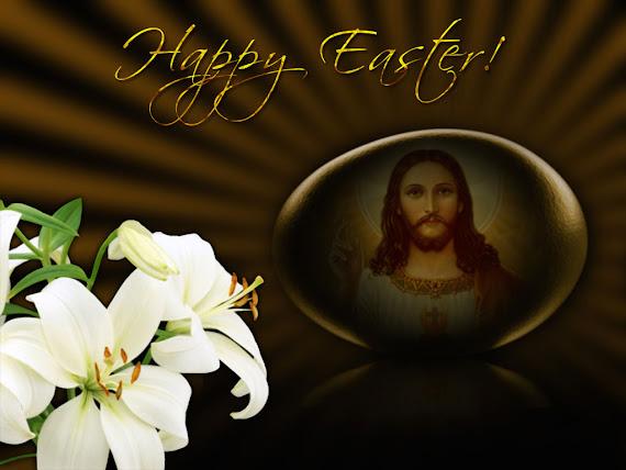besplatne pozadine za desktop 1024x768 free download slike ecard čestitke Uskrs Isus Krist