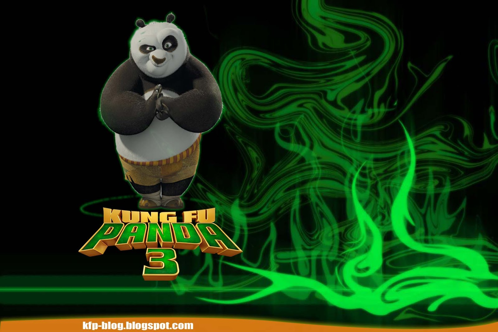 Baby kung fu panda wallpaper