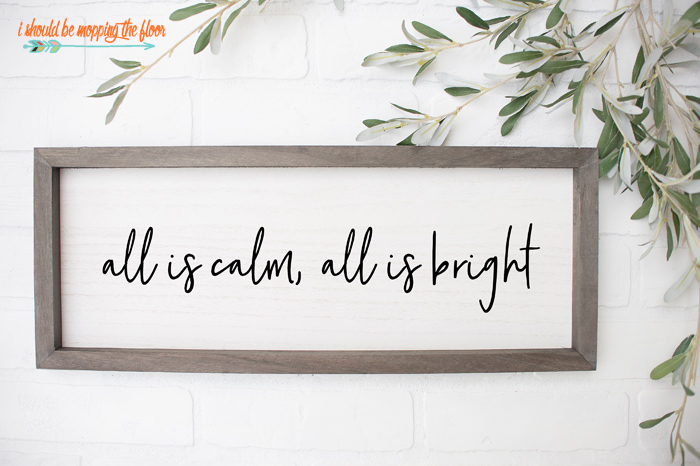 All is Calm, All is Bright SVG