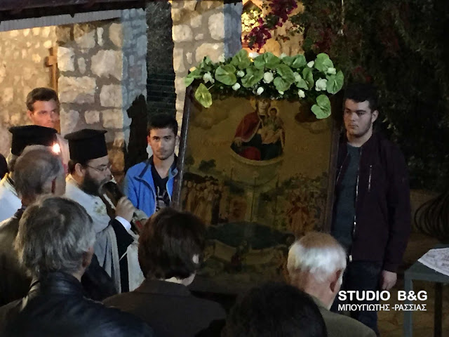 Η Εορτή της Ζωοδόχου πηγής στη Βαρσέκα Ινάχου στην Αργολίδα