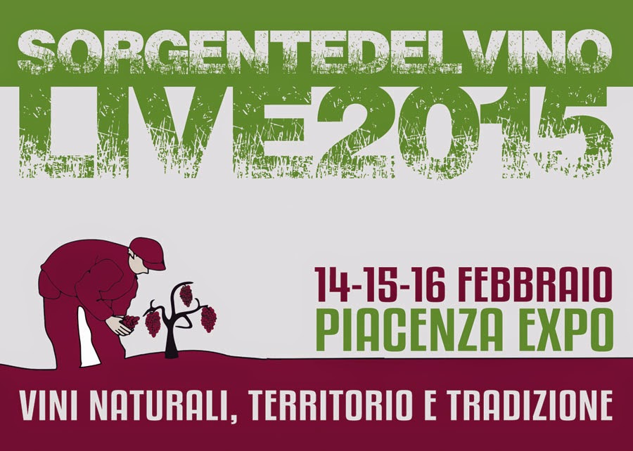 Sorgentedelvino live dal 14 al 16 febbraio 2015 Piacenza Expo (PC)