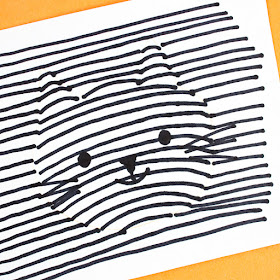 How to do 3D Optical Illusion Halloween Drawings- Such a fun and quick art challenge for kids!