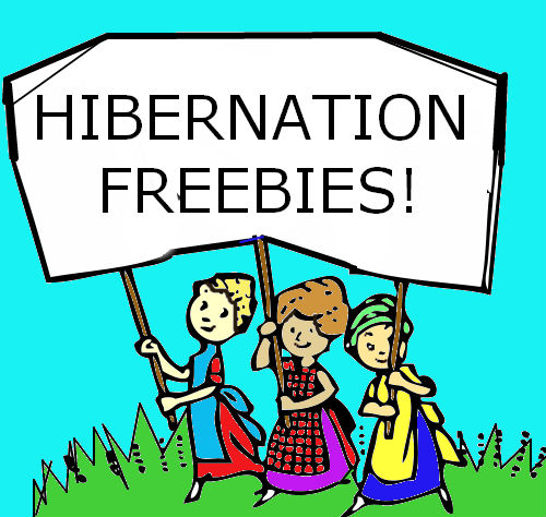 Hibernation Freebies Winner Preschool Powol Packets