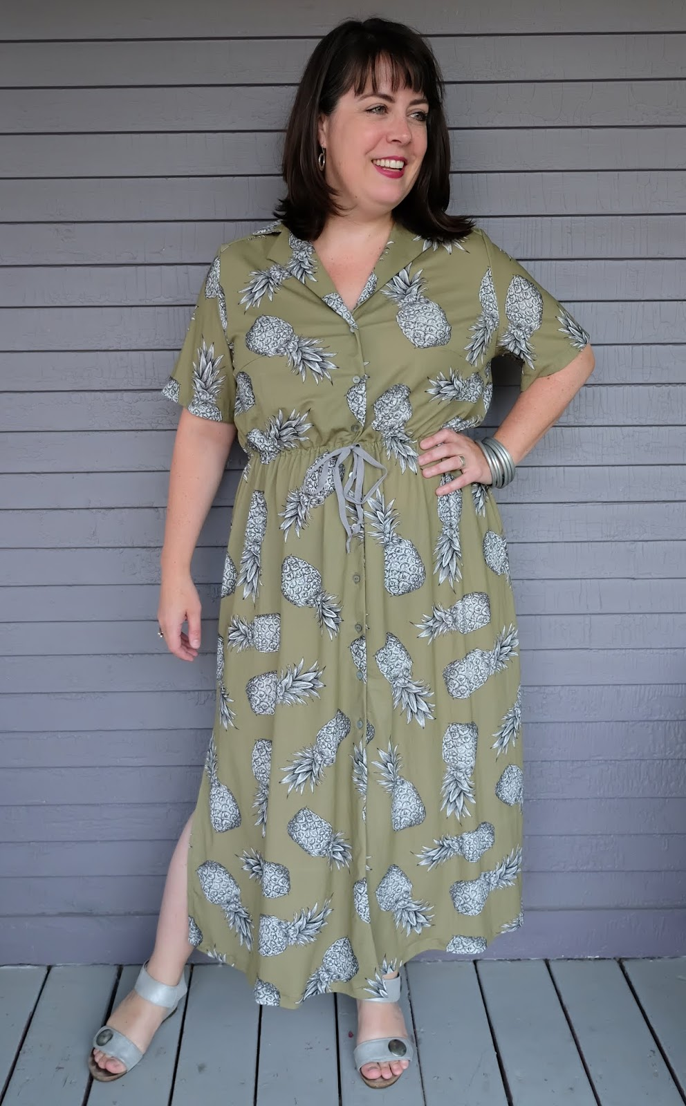 f35dd376abe This is the Named Reeta Midi Shirtdress, which I have been meaning to make  for a while now after admiring so many others in the sewing community (see:  Katie ...