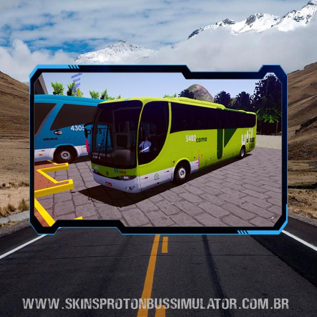 Skin Proton Bus Simulator - G6 1050 MB O-500R 4X2 Util Cama