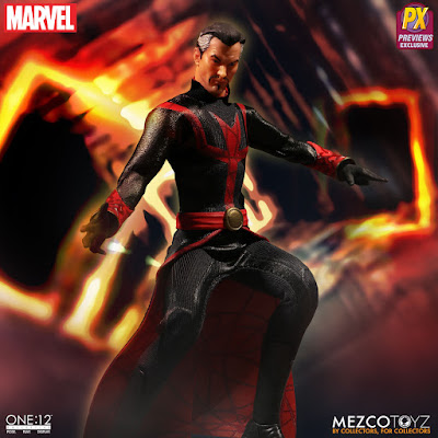 Imágenes de la Exclusive Marvel Defenders Dr. Strange de One:12 Collective - Mezclo