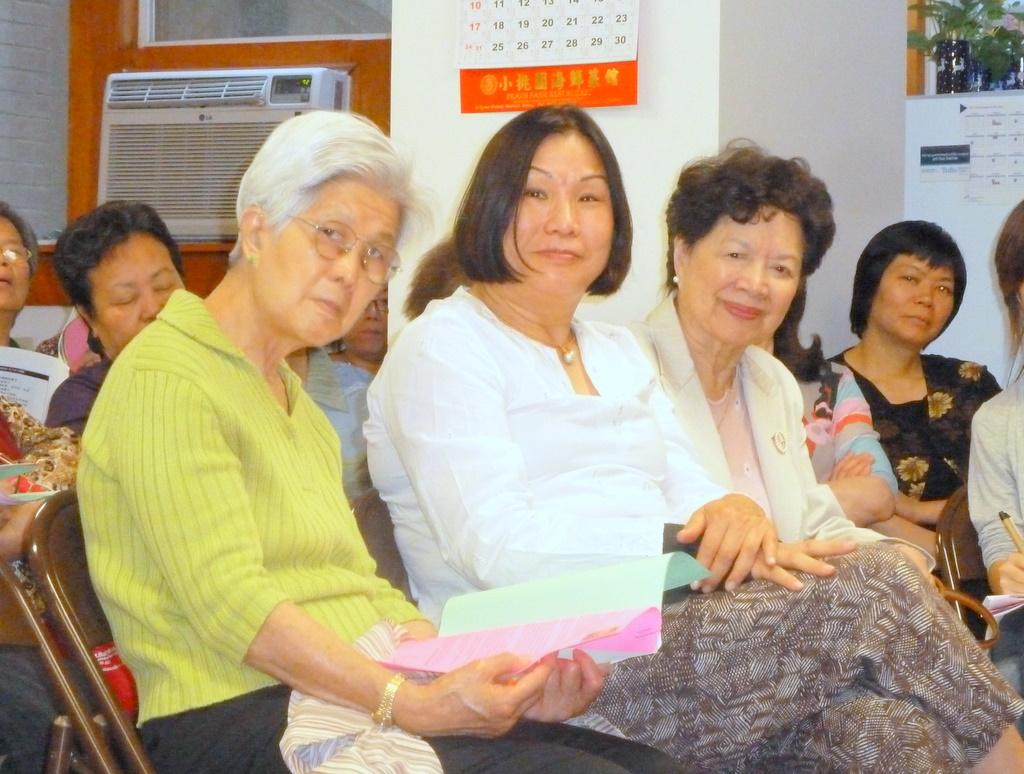 Boston Orange 波士頓菊子: 中華耆英會邀乳癌倖存者分享經驗