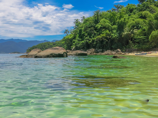 Ilha das Couves, em Ubatuba