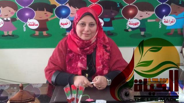 """الدكتورة أسماء التنجي """" والدي هو الدافع الأساسي لنجاحي..وأتوقع نجاح نظام التعليم الحديث"""