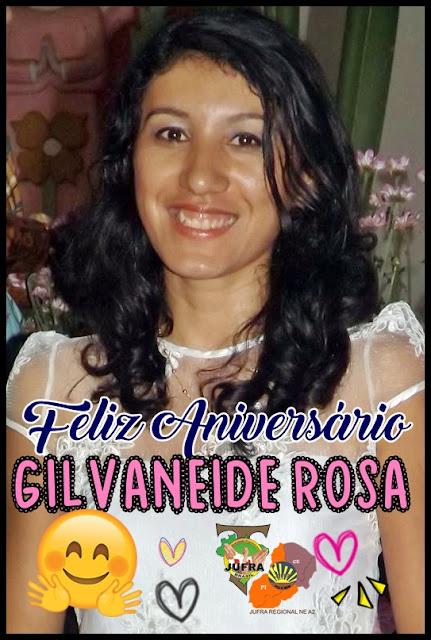 Dia de Gilvaneide Rosa