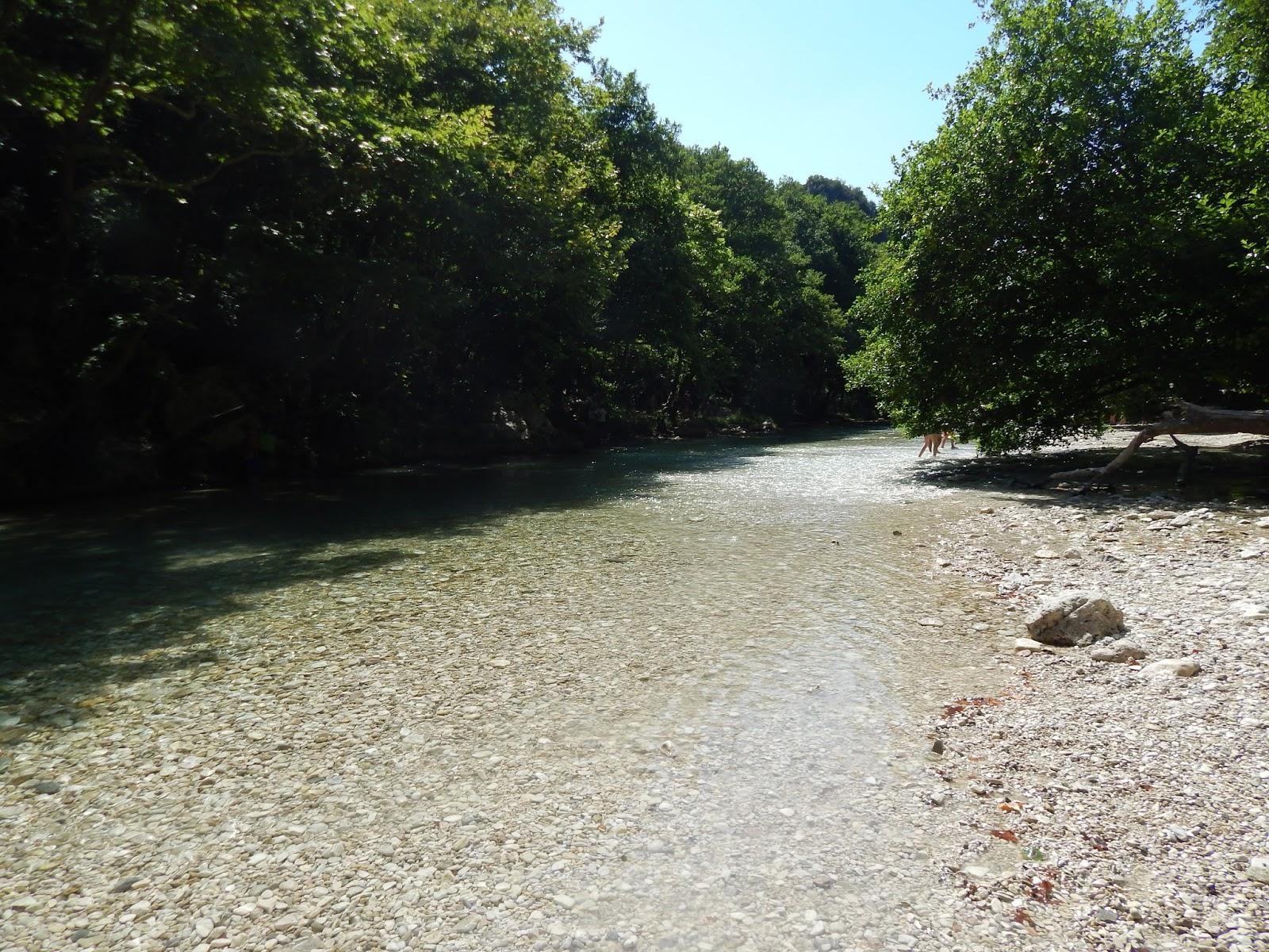 vysychající řeka Acheron Gliki