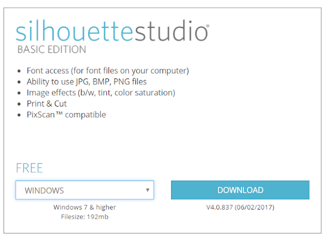 Silhouette Studio v.4 - Ladda ned programvara
