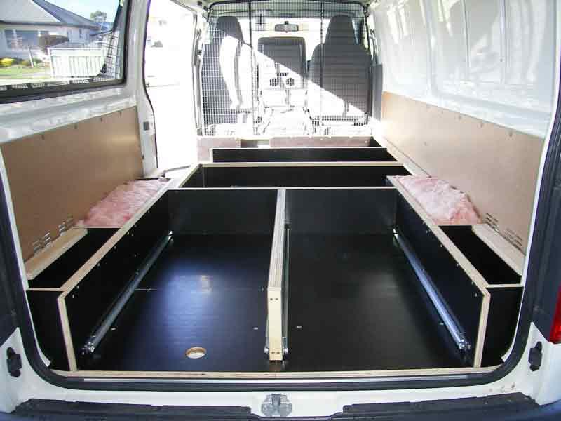 Ford 12 Passenger Van >> Van Fitouts