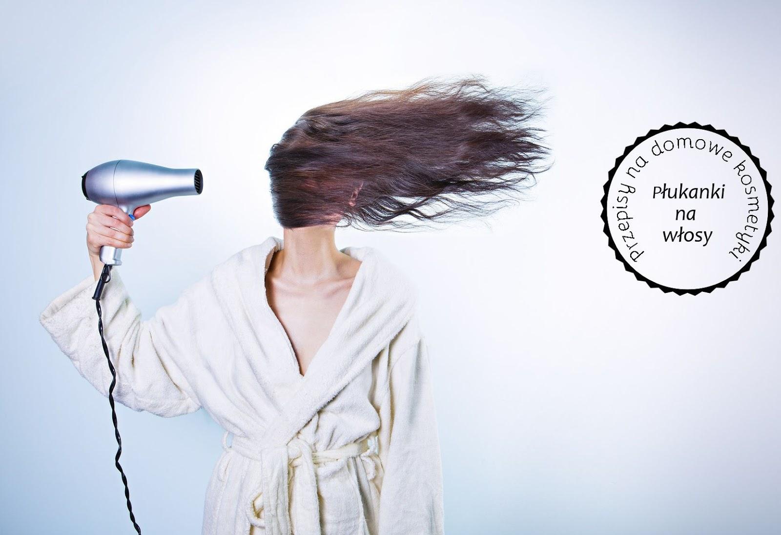 Przepisy na domowe kosmetyki : Domowe płukanki do włosów