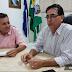 Renato Gouveia recepciona Deputado Federal Nilson Leitão