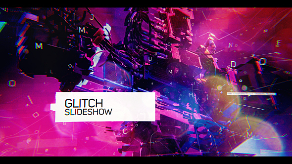Glitch Slideshow Free Download After Effects Templates Get After
