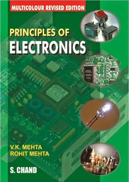 pdf book : PRINCIPLES OF ELECTRONICS by V K  Mehta ~ House