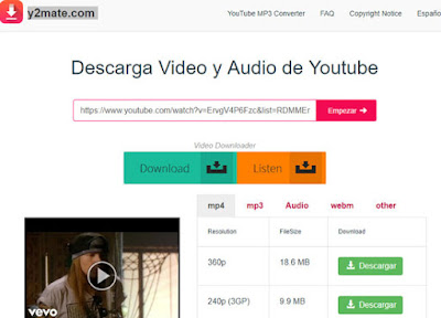Como descargar videos de Youtube (sin programas)