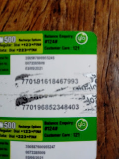 FASTEST FINGERS!! Load These Two N500 Glo Recharge Cards And Comment After Loading