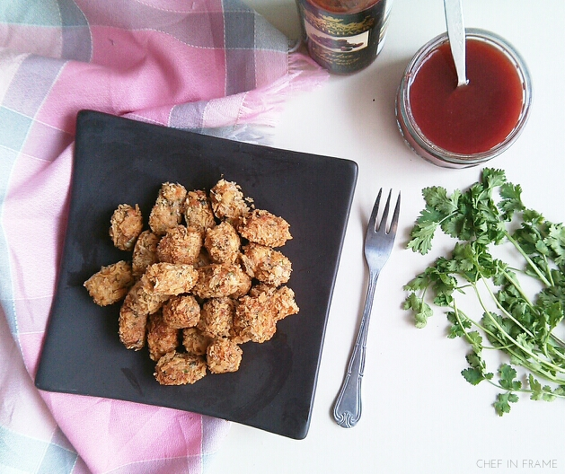 Spicy Crispy Homemade Chicken Nuggets Recipe