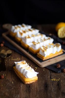 Recette de tarte au citron meringuée revisitée.
