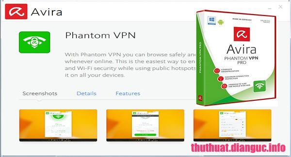Download Avira Phantom VPN Pro 2.18.1.30309 Full Key