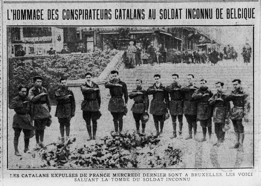 VOLUNTARIS CATALANS 1925