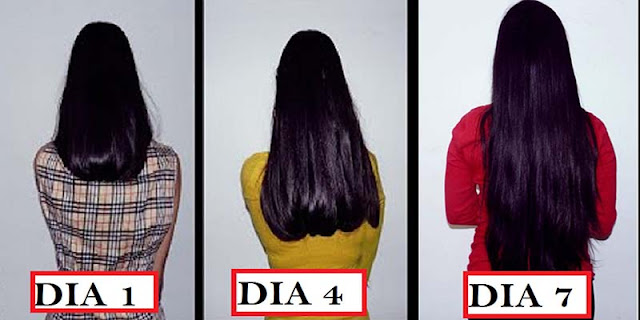 Aprenda cómo hacer el pelo largo en el plazo de 7 días usando estos extremidades