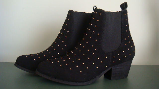 Black Wedge Boots Rubi Shoes