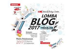 Lomba Blog Wisata dan Budaya Cirebon